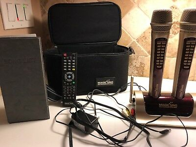 Magic sing karaoke wireless system Package with EXTRA Song chips !!!