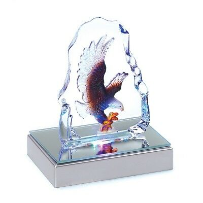 Eagle Crystal Sculpture - Home Decor (Accent Plus)
