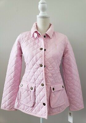 Nwt Polo Ralph Lauren Girls Quilted Jacket Pink Xl(16) #60