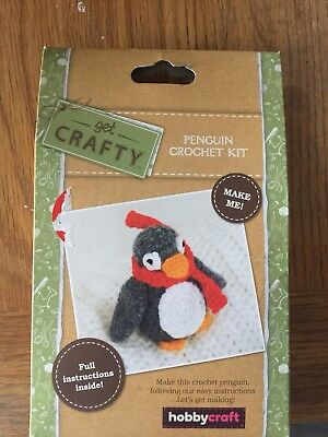 Bn Crochet Kit - Penguin