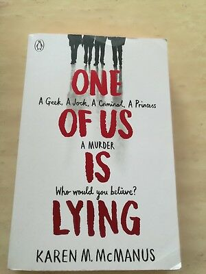 One of Us is Lying by Karen McManus New 2017 Paperback Book
