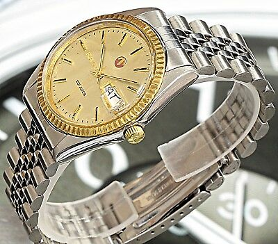 Rare! Vintage Rado Voyager Swiss Made 17 Jewels Automatic Men's Watch - Working