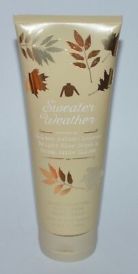 1 New Bath Body Works Sweater Weather Ultra Shea Body Cream Hand