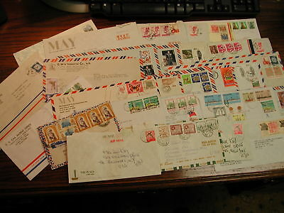 China, Tiawan, Japan, commerical Covers 1970-80's lot of 40