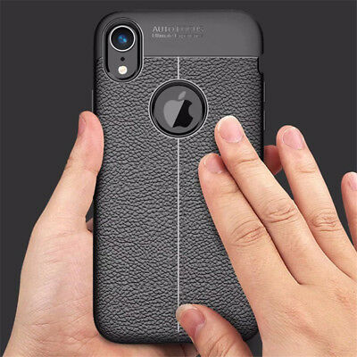 For iPhone Xs Max Xr 9 8 7 Plus Shockproof Soft Silicone Matte Case Cover  2018