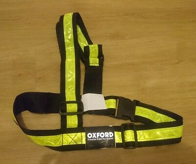Oxford Bright Belt HIGH VIS REFLECTIVE DAY/NIGHT  Conforms to  EN13356