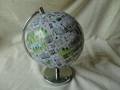 Small London  Globe Will Be Sent Signed Recorded