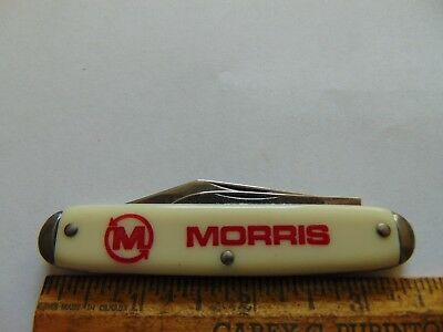 Morris Farm Equipment Advertising Pocket Knife Vintage