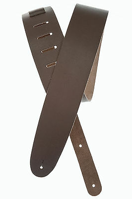 Planet Waves 25Bl01 Basic Classic Leather Guitar Strap, Brown - New!