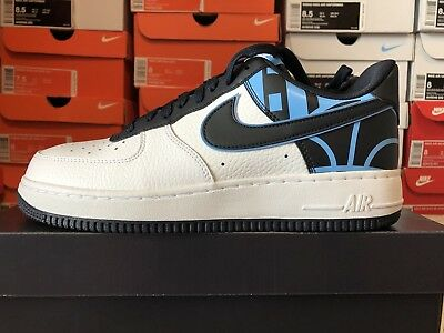 NIKE AIR FORCE One 1 Mid '07 LV8 Utility Obsidian Navy White