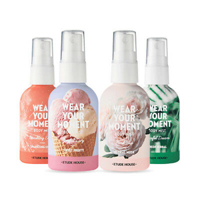 [ETUDE HOUSE] Wear Your Moment Body Mist - 55ml / Free Gift