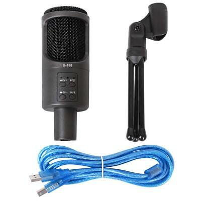 FIRSTEC Professional Condenser Sound Studio USB Microphone Recording...