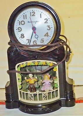Master Crafters Swinging Playmates electric clock