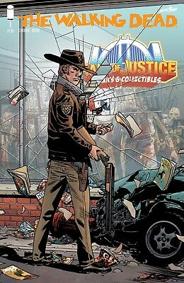 """The Walking Dead #1 - 15th Anniversary """"Hall Of Justice Comics"""" Variant"""