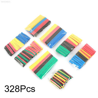 D1B5 8 Size Heat Shrink Tubing Polyolefin Tube Wrap Sleeving Cable Tube
