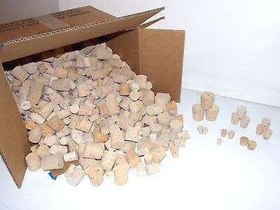 Lot 500+ loose Lab Corks Fisher Matheson VWR SP CMS sizes 00 thru 10 over 3 lbs