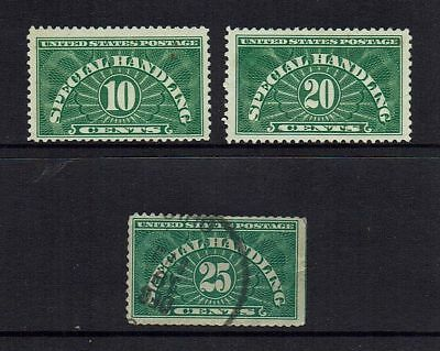 Usa   1925 Special Handling Stamps ....( 2 Scans )