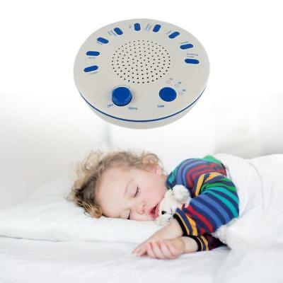 Hot 9 Sounds Deep Sleep Noise Solution White Relax Machine Natural Peace Therapy