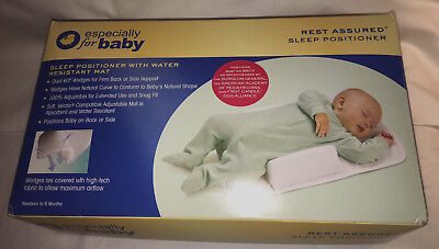 Infant Sleep Baby Pillow Wedge w Pad, Adjustable, Anti-Roll, Newborn