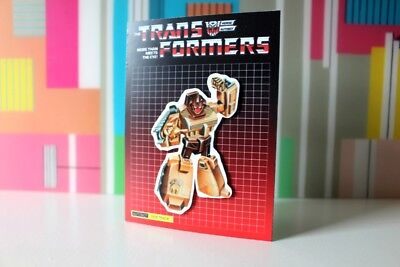 G1 Transformers Warpath Autobot collectible 80/'s Art magnet party favor
