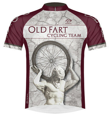 Primal Wear Old Fart Atlas Cycling Jersey Men s short sleeve bicycle bike +  sox 576bb3b39