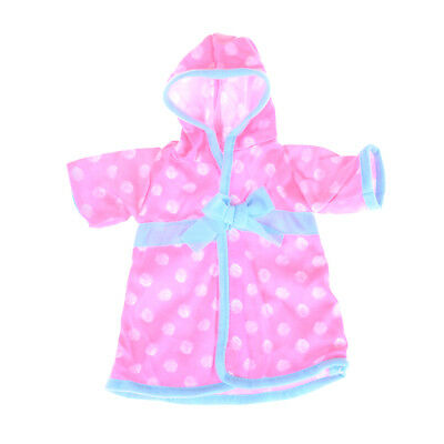 Baby Born Doll Bathrobe Clothes For American Girl Doll Accessories JDUK