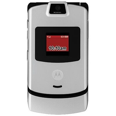 Motorola RAZR V3m Cell Phone for Verizon With Charger