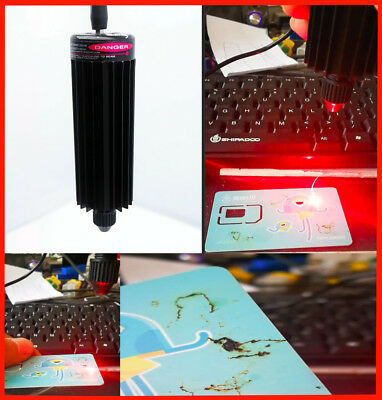 Focusable 650nm 300mw Red Laser Module for Carving/Burning/Engraving