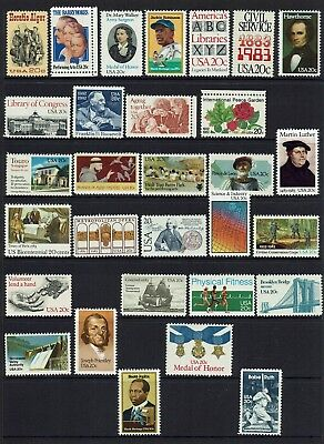 Usa ...mint Stamp Collection...mh