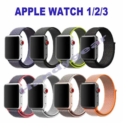 Sports Band Nylon Replacement Strap For Apple Watch Series 4 iWatch