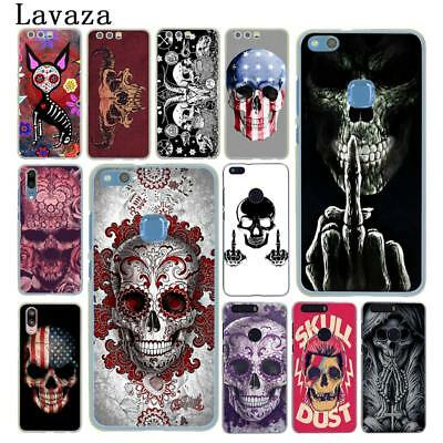 Slim Skull Phone Case Cover For Huawei P20 P10 P9 Lite Smart Mate 10 Pro N3339