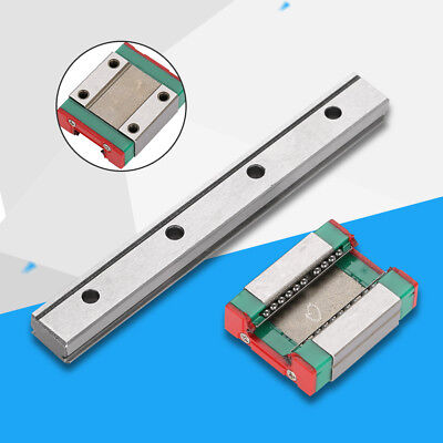 12mm Miniature Linear Slide Rail Guide + LML12B Slide Block CNC 3D Printer Parts