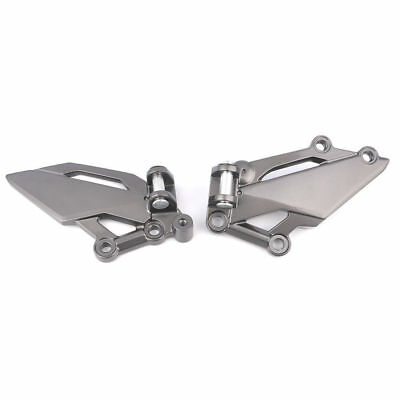 Footrest Foot Peg Pedal Mounts Brackets For Kawasaki Ninja 300 EX250R Z250 Z300