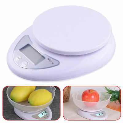 Useful 5kg 5000g/1g Digital Kitchen Food Diet Electronic Weight Balance Scale