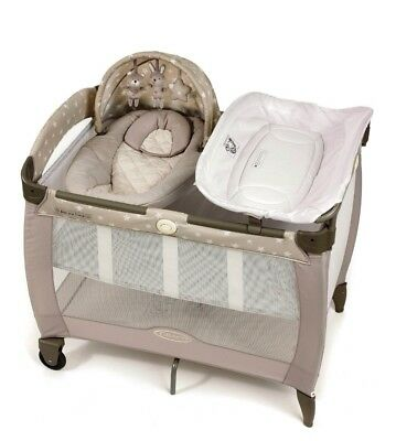 Graco Contour Electra Travel Cot And Extras