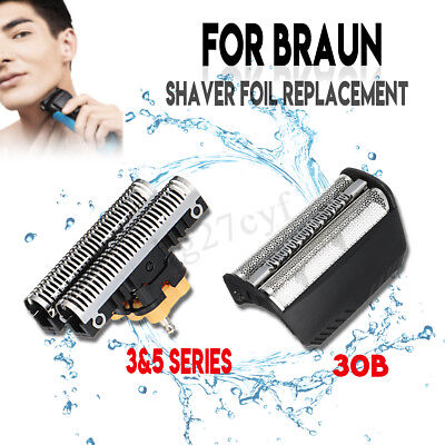 Shaver/Razor Foil Replacement + Cutter Blade For BRAUN 30B 310 330 340 195S