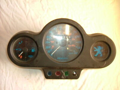 Peugeot Air Cooled 100cc Speedfight 2 Dash Clocks Speedo Speedometer