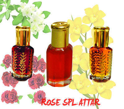 Rose Special Al Attar Ittar 100% Pure concentrated Perfume Oil - 3 To 100 ml