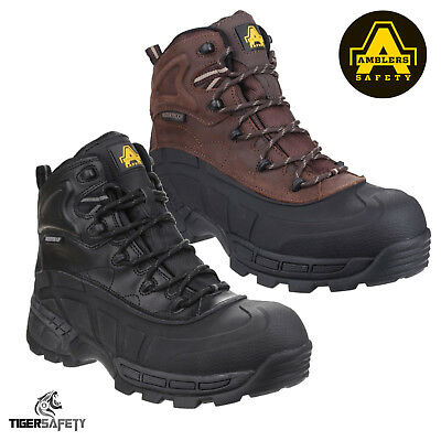 Amblers Orca FS430 AS430 SBH Waterproof Composite Toe Cap Hybrid Safety Boots