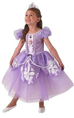 Girls Premium Disney Princess Sofia the First Book Day Week Fancy Dress Costume