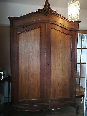 Original Louis 2 Door Armoire Wardrobe