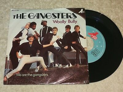 The Gangsters - Wooly Bully    Vinyl  Single