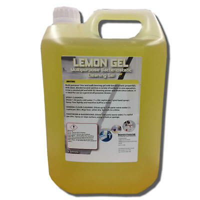 Lemon Gel - Heavy Duty Floor Cleaner Maintainer - Super Concentrated