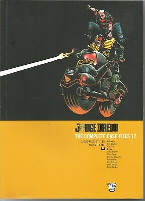 JUDGE DREDD: The Complete Case Files No. 12 (2008) First Edition Trade Paperback