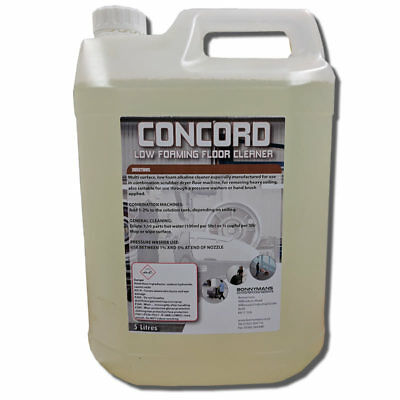 Concorde - Scrubber Drier Detergent - Fluid - Floor Cleaning Chemical