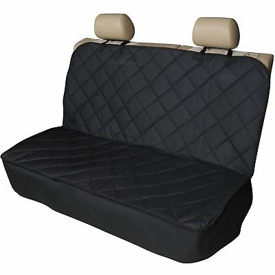 Quilted Heavy Duty Rear Back Car Seat Covers for MAZDA 2 (07-ON)