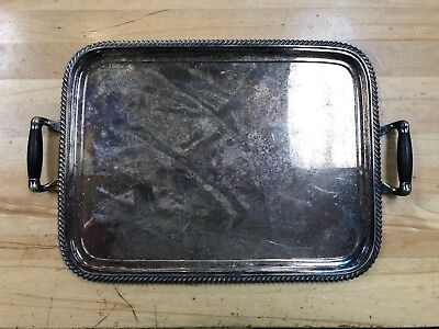 Vintage Tiffany Silver Soldered Tray