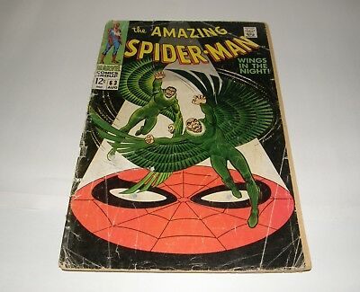 Amazing Spider-man #63 Silver Age comic book.