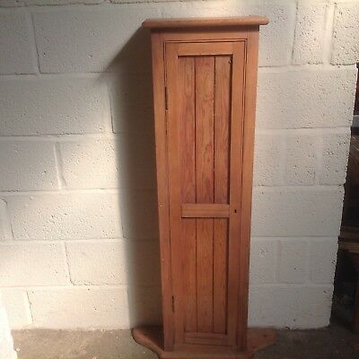 Lovely Pretty Arts & Crafts Pine Wall Cupboard