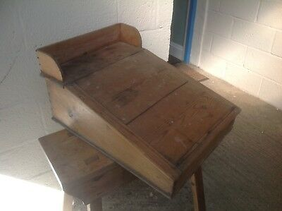 Old pine writing desk, needs work on it.